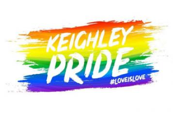 Keighley Pride 2019 logo